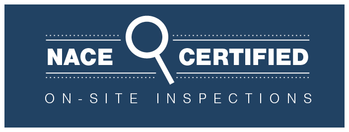 NACE-certified on-site inspections