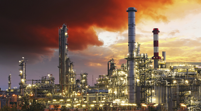 Industrial fire protection for refineries